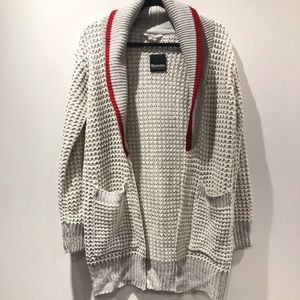 BLUENOTES / nwt open front longline cardigan